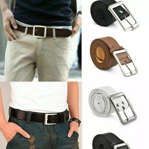 Lot of 4 belts